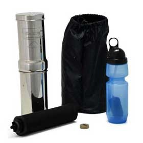 Go Berkey Kit - Portable Water Filter