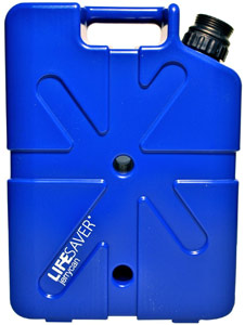LIFESAVER Systems Filtering Jerrycan