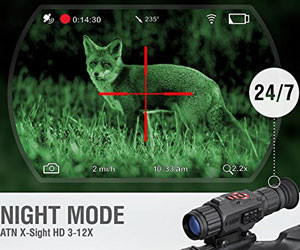ATN X-Sight Smart Riflescope
